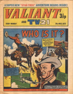 Valiant and TV21, 20 May 1972
