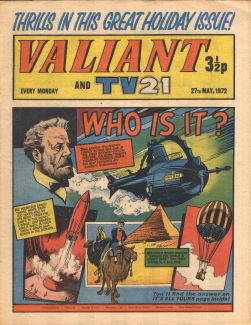 Valiant and TV21, 27 May 1972