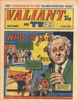 Valiant and TV21, 1 Jul 1972