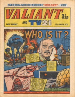 Valiant and TV21, 12 Aug 1972