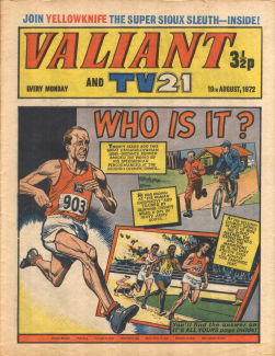 Valiant and TV21, 19 Aug 1972