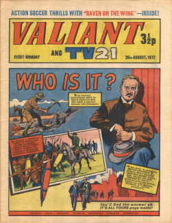 Valiant and TV21, 26 Aug 1972