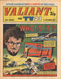 Valiant and TV21, 2 Sep 1972