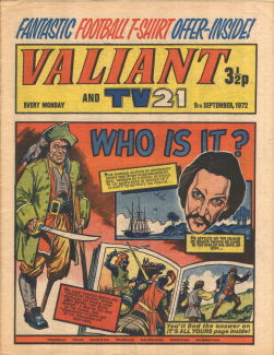 Valiant and TV21, 9 Sep 1972