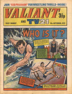 Valiant and TV21, 16 Sep 1972