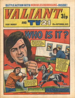 Valiant and TV21, 23 Sep 1972
