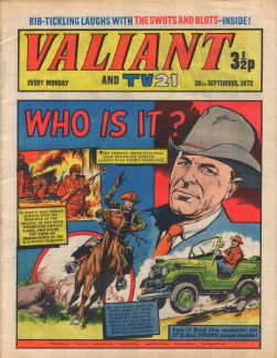 Valiant and TV21, 30 Sep 1972