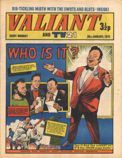 Valiant and TV21, 20 Jan 1973