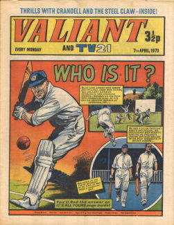 Valiant and TV21, 7 Apr 1973