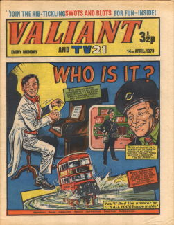 Valiant and TV21, 14 Apr 1973