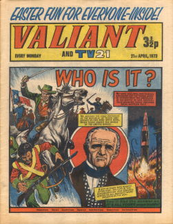 Valiant and TV21, 21 Apr 1973