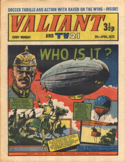 Valiant and TV21, 28 Apr 1973