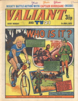 Valiant and TV21, 5 May 1973
