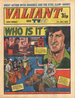 Valiant and TV21, 21 Jul 1973