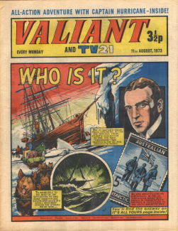Valiant and TV21, 11 Aug 1973
