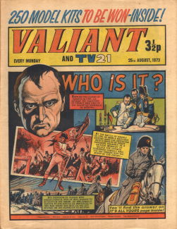 Valiant and TV21, 25 Aug 1973