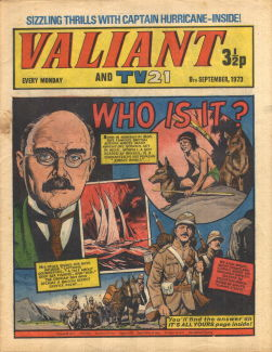 Valiant and TV21, 8 Sep 1973