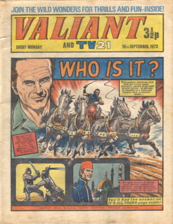 Valiant and TV21, 15 Sep 1973