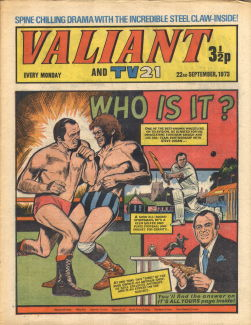 Valiant and TV21, 22 Sep 1973