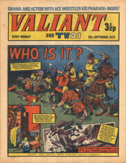 Valiant and TV21, 29 Sep 1973