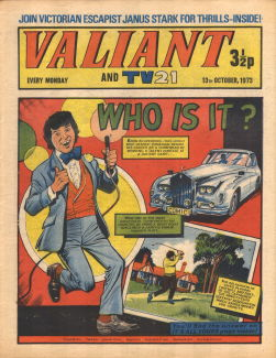 Valiant and TV21, 13 Oct 1973