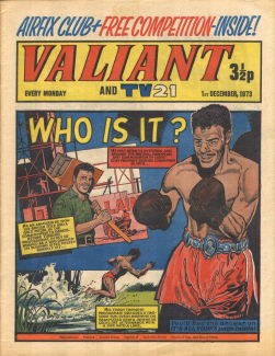 Valiant and TV21, 1 Dec 1973